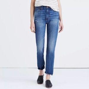 Madewell Distressed Perfect Vintage Denim Jeans
